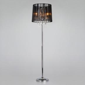 Торшер Allata 2045 2045/3F хром/черный